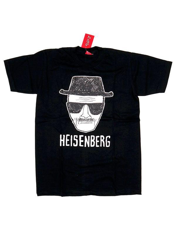 Camisetas T-Shirts - Camiseta Heisenberg [CMSE77] para comprar al por mayor o detalle  en la categoría de Ropa Hippie Alternativa para Hombre.