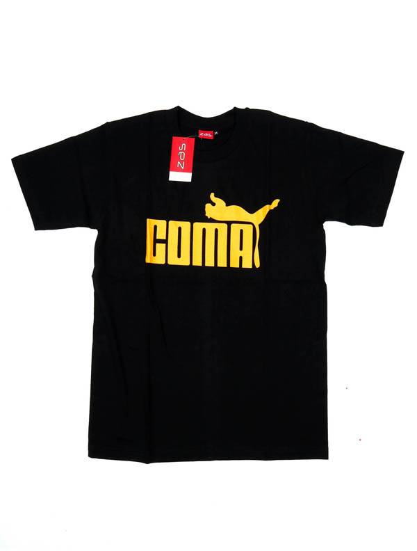 Camiseta Coma - Puma - Negro Comprar al mayor o detalle