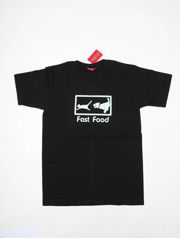 Camisetas T-Shirts - Camiseta Fast Food CMSE81 para comprar al por Mayor o Detalle en la categoría de Ropa Hippie Alternativa para Hombre