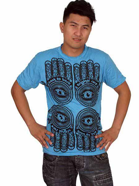 Camiseta SURE de algodón manga corta. Estampado total y estampado Comprar - Venta Mayorista y detalle