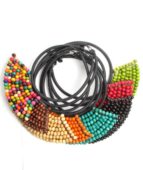 Collares Hippie Étnico - Collar étnico artesanal COBOU33.
