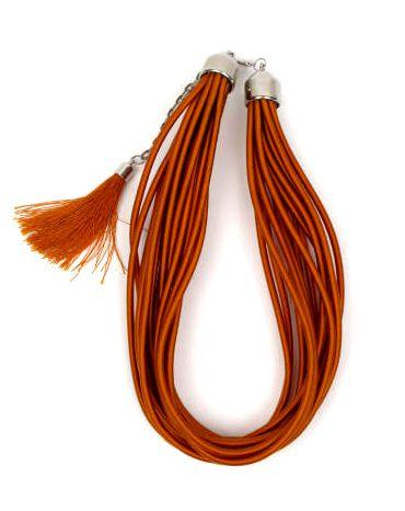 collar grueso de hilo en colores lisos y fosforescentes multivueltas Comprar - Venta Mayorista y detalle