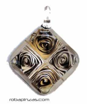 Colgante de cristal decorado en interior (a juego con anillo ancr2) para Comprar al mayor o detalle