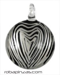 Colgante de cristal decorado en interior (a juego con anillo ancr2) Comprar - Venta Mayorista y detalle