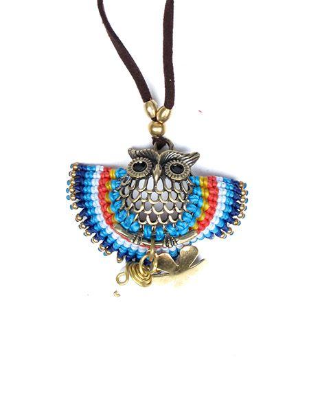 Collar de cuero con adornos en latón y piedras ajustable en Comprar - Venta Mayorista y detalle