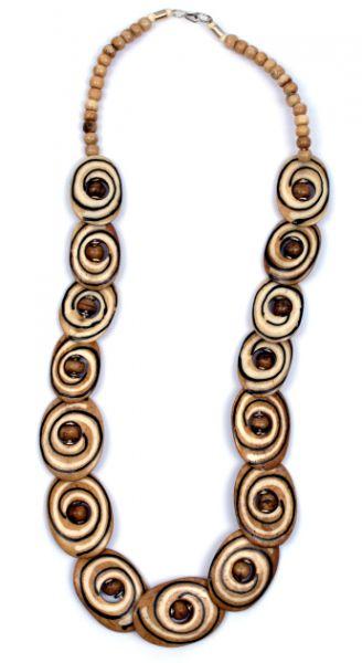 collar de hueso piezas superpuestas talladas con cierre de gancho. Comprar - Venta Mayorista y detalle