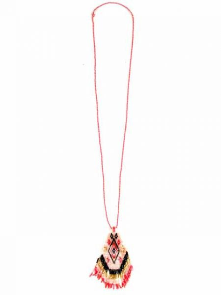 Collar colgante cuentas cristal japonesas [COPA05] para Comprar al mayor o detalle