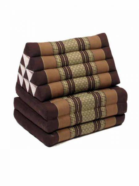 Colchoneta con almohada triangular con relleno de kapoc natural y Comprar - Venta Mayorista y detalle