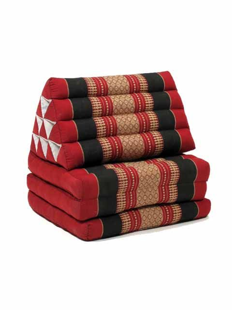 Colchoneta Thai Kapok almohada triangular [CTMO01B] para Comprar al mayor o detalle