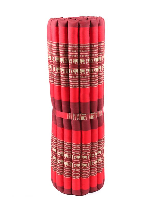 Colchoneta Thai Kapok grande - Rojo2 Comprar al mayor o detalle