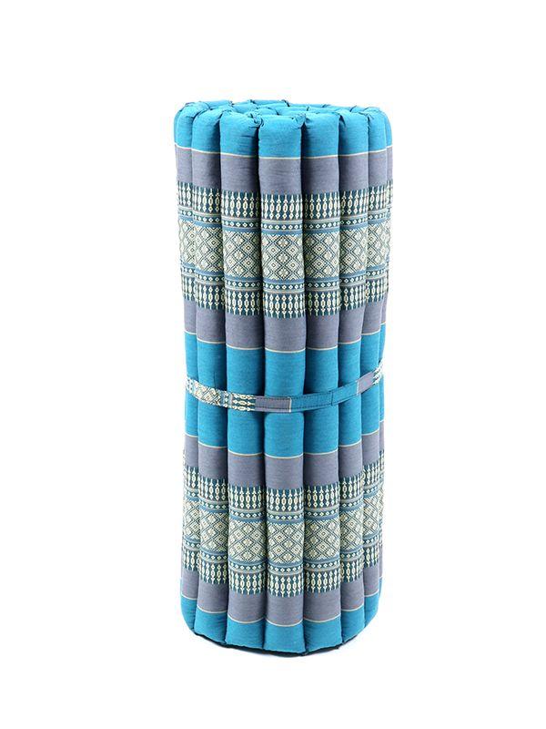 Colchoneta Thai Kapok mediano - Azul2 Comprar al mayor o detalle