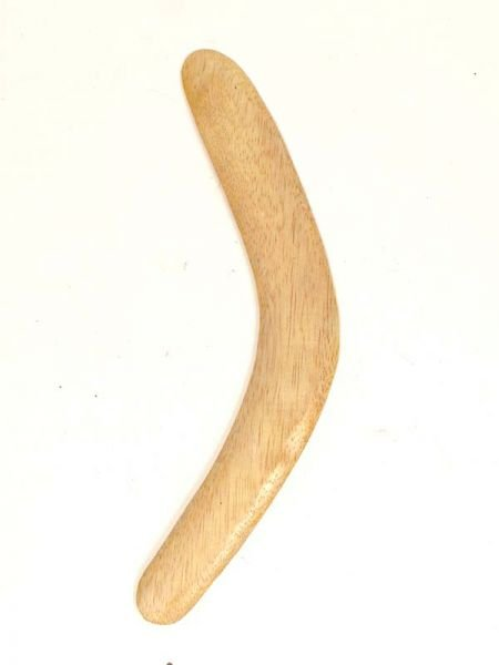 Decoración Etnica - Boomerang madera liso [DBOOM02] para comprar al por mayor o detalle  en la categoría de Artículos Artesanales.