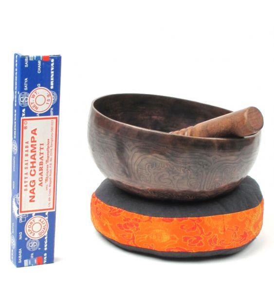 Singhing bowl, cuenco tibetano 20cm [DSG04] para Comprar al mayor o detalle
