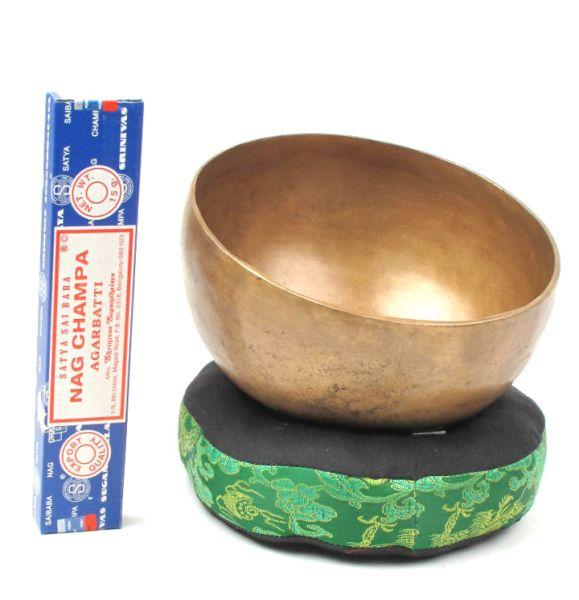 Singhing bowl, cuenco tibetano 25cm [DSG05] para Comprar al mayor o detalle