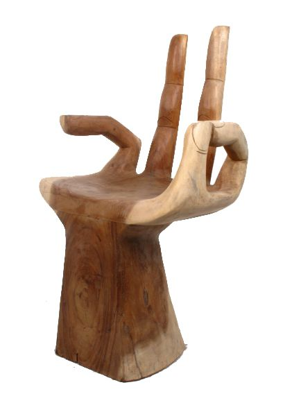 Silla mano de buda tallada decoraci n etnica dsi01 agotado for Madera para tejados de segunda mano