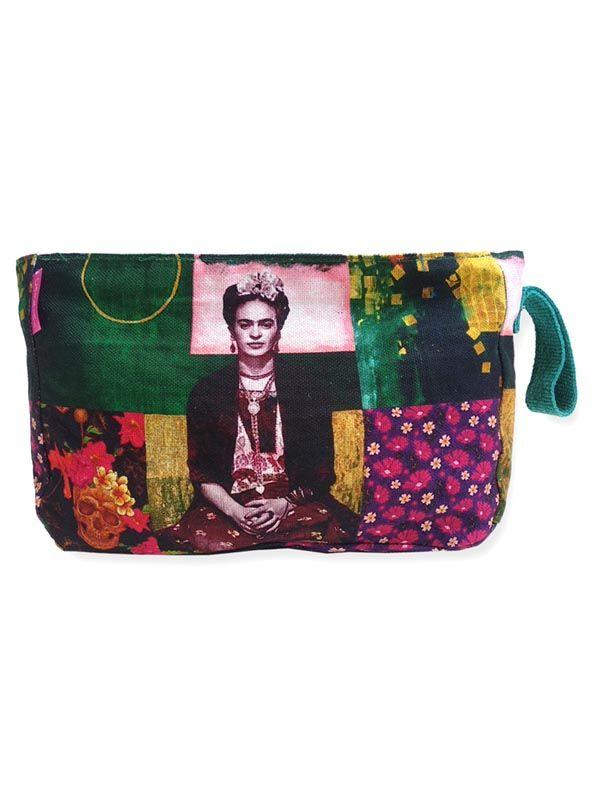 Neceser Grande Estampados Frida Kahlo. [ESMEBA] para Comprar al mayor o detalle