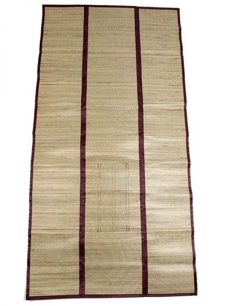 Estera de rafia fibras naturales y algodón plegable con asa Comprar - Venta Mayorista y detalle