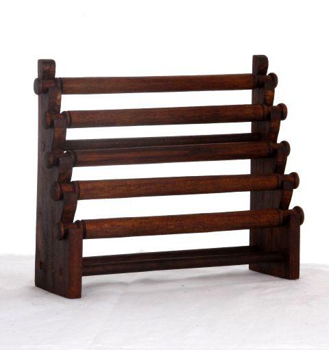Excpositor de anillos en escalera con 5 rulos, medidas 24x20 cm Comprar - Venta Mayorista y detalle