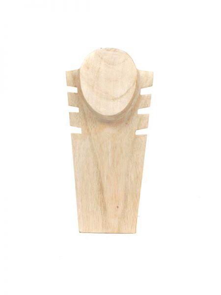 Expositor madera 3-4 collares [EXCO01] para Comprar al mayor o detalle