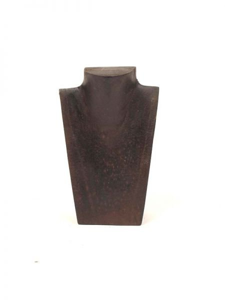 Expositores Madera - Expositor busto madera collares [EXCO03] para comprar al por mayor o detalle  en la categoría de Artículos Artesanales.