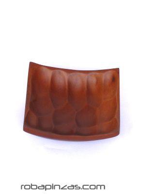 Expositores Madera - Plato de madera de palma cuadrado pequeño 13x13cm [EXCU9] para comprar al por mayor o detalle  en la categoría de Artículos Artesanales.