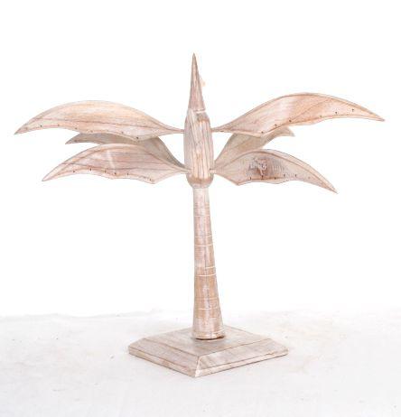 Expositor con forma de palmera para pendientes en madera. dos colores. [EXPE05] para Comprar al mayor o detalle