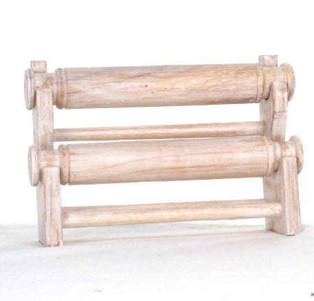 Expositor para pulseras de mesa con dos rollos. medidas 20x30x9 cm Comprar - Venta Mayorista y detalle
