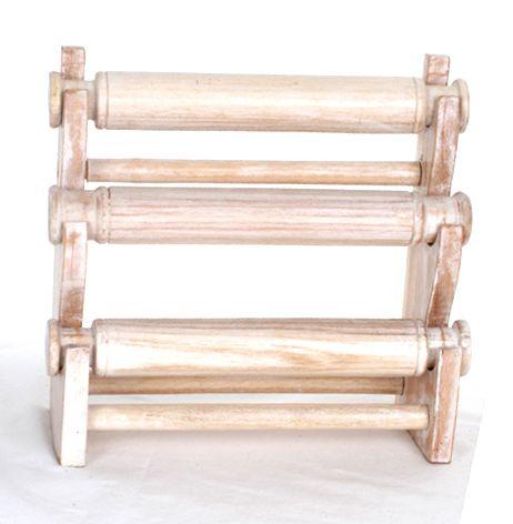 expositor de mesa pulseras con 3 rollos, medidas 30x28x12 cm Comprar - Venta Mayorista y detalle