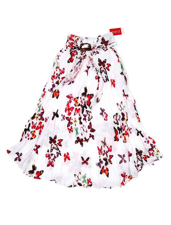 Falda estampada hebilla de coco - Detalle Comprar al mayor o detalle
