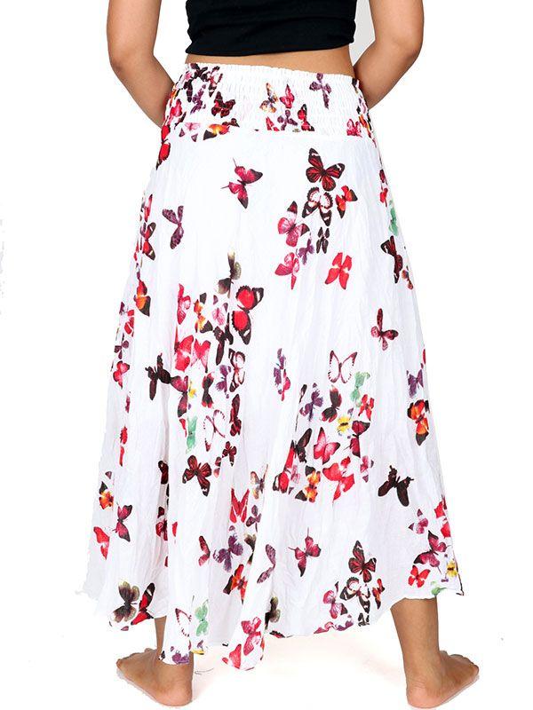 Faldas Hippie Étnicas - Falda 100% algodón FAAL04.