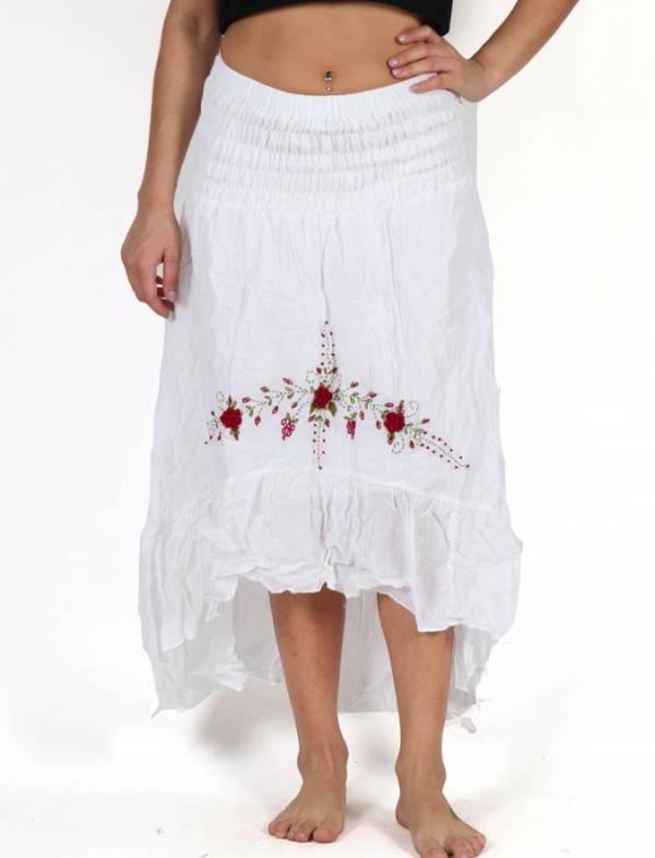 Faldas Hippie Boho Étnicas - Vestido-Falda Étnico Bordado [FAAO02] para comprar al por mayor o detalle  en la categoría de Ropa Hippie Alternativa para Chicas.