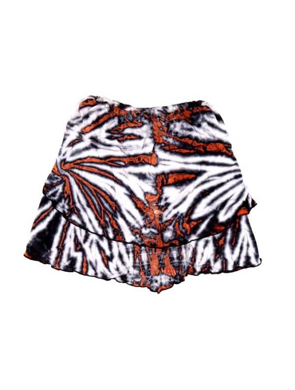 Minifalda hippie Tie Dye cruzada - M200 Comprar al mayor o detalle
