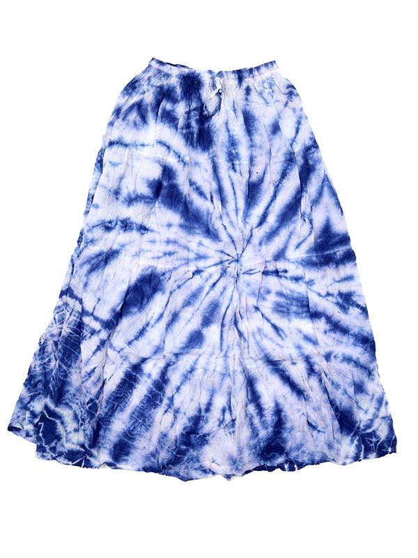 Falda hippie Tie Dye larga - M04 Comprar al mayor o detalle