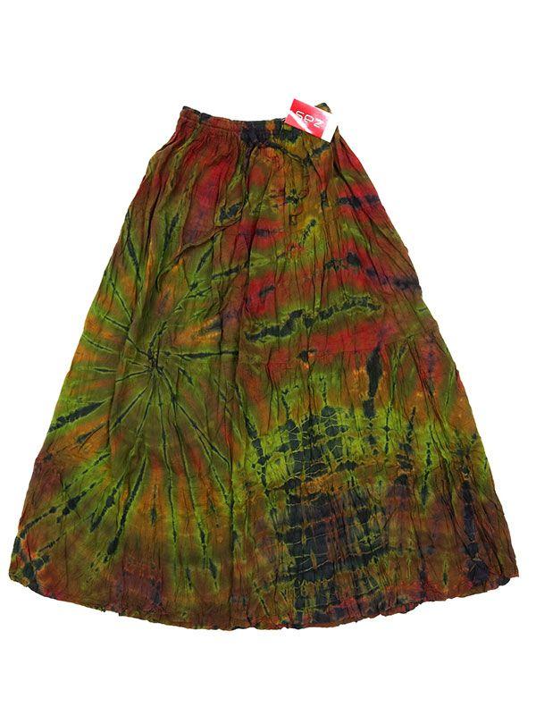 Falda hippie Tie Dye larga - M06 Comprar al mayor o detalle