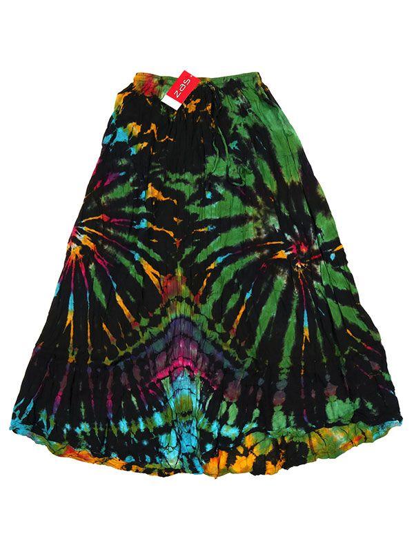 Falda hippie Tie Dye larga - M01 Comprar al mayor o detalle