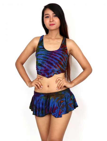 Faldas Hippie Étnicas - Minialda-pantalón hippie FAJU05.