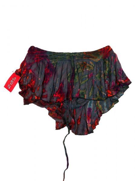 Faldas Hippie Étnicas - Minialda-pantalón hippie FAJU05 - Modelo Gris