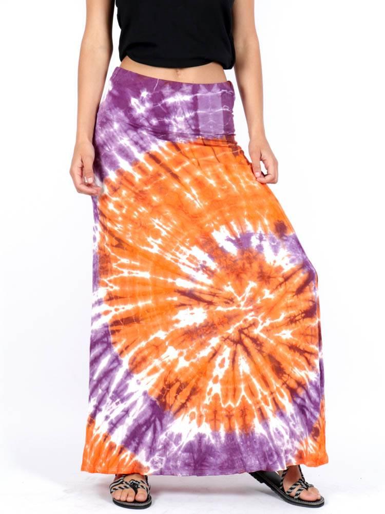 Falda hippie Tie Dye Larga [FAPN03] para comprar al por Mayor o Detalle en la categoría de Faldas Hippies y Étnicas