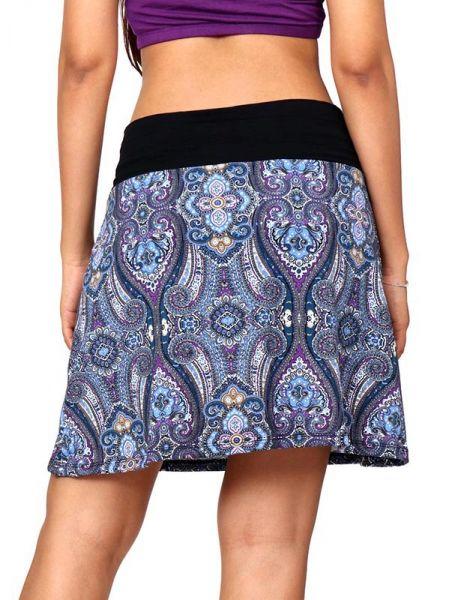Minifalda hippie 60% expandex poliester 40% algodón estampado Comprar - Venta Mayorista y detalle