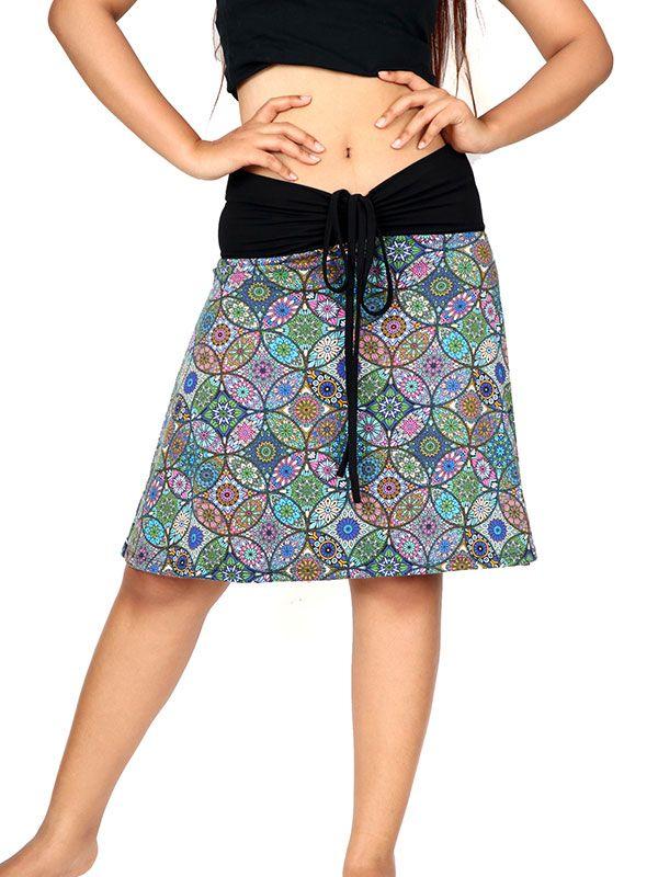 Falda corta Hippie estampado mandalas [FASN13] para Comprar al mayor o detalle