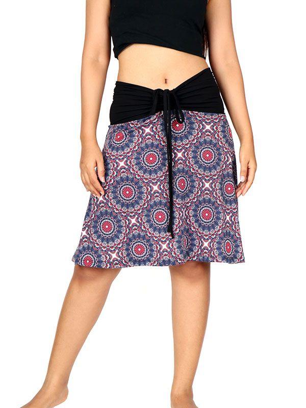 900e5a7dfd Falda corta Hippie estampado mandalas - - FASN16