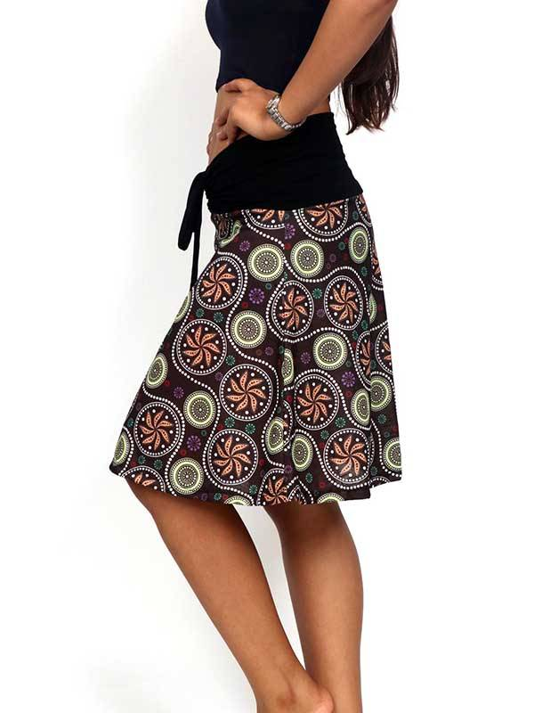 Top Hippie con estampado de mandalas - Detalle Comprar al mayor o detalle