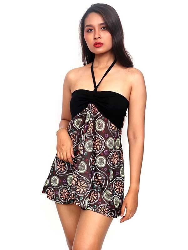 Camisetas Blusas y Tops - Top Hippie con estampado de mandalas FASN26-T para comprar al por Mayor o Detalle en la categoría de Ropa Hippie para Mujer