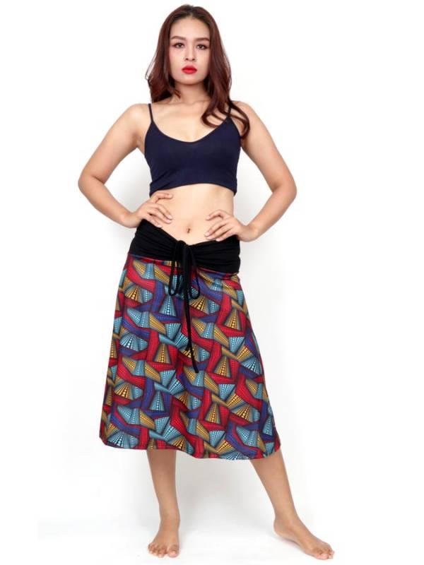 Vestido Hippie con estampado Etnico - Detalle Comprar al mayor o detalle