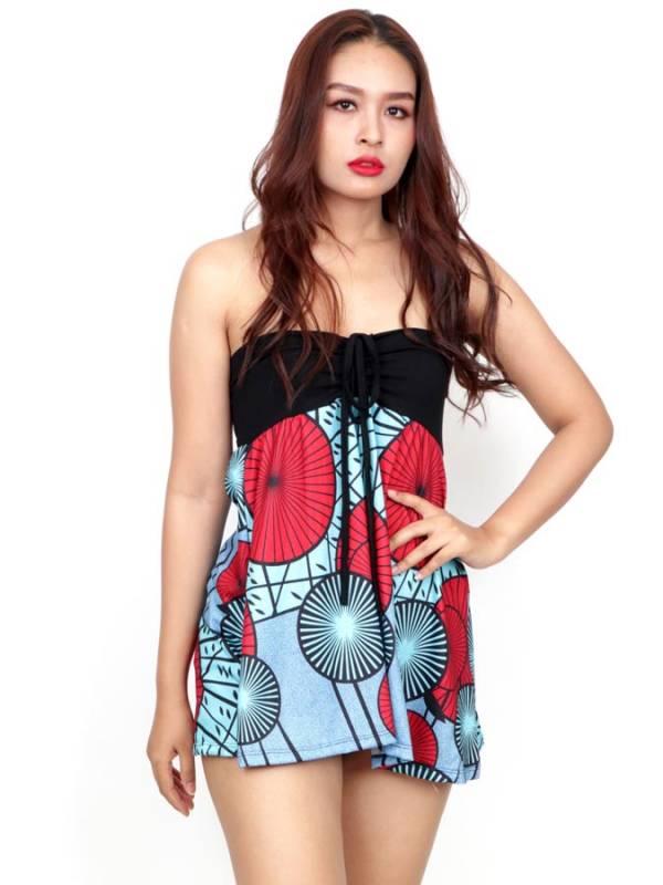 Top Hippie con estampado Etnico [FASN34-T] para comprar al por Mayor o Detalle en la categoría de Camisetas Blusas y Tops
