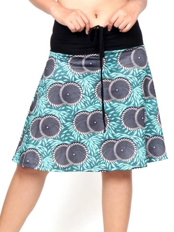 Falda Hippie con estampado Etnico [FASN36] para comprar al por Mayor o Detalle en la categoría de Faldas Hippies y Étnicas