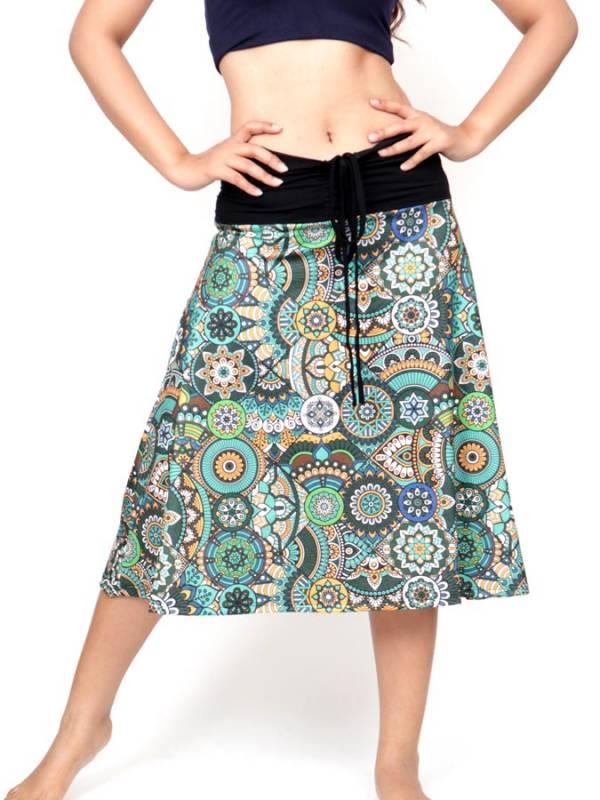 Falda Hippie larga con estampado Etnico [FASN39] para comprar al por Mayor o Detalle en la categoría de Faldas Hippies y Étnicas