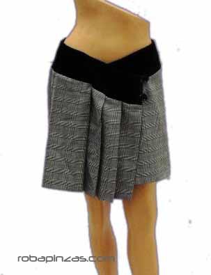 Falda cuadros algodón, cruzada LIQUIDACION Comprar - Venta Mayorista y detalle
