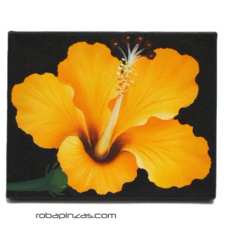 Óleos sobre lienzos motivos de flores. Bastidor de madera. Comprar - Venta Mayorista y detalle