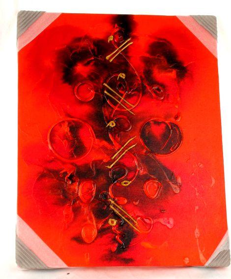 Outlet otros artículos - Lienzos pintados abstractos, medidas: 40x50cm [FRLI4] para comprar al por mayor o detalle  en la categoría de Outlet Hippie Étnico Alternativo.